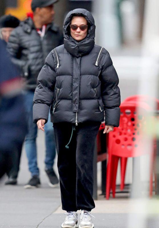 Diane Kruger in a Padded Jacket 12/12/2018