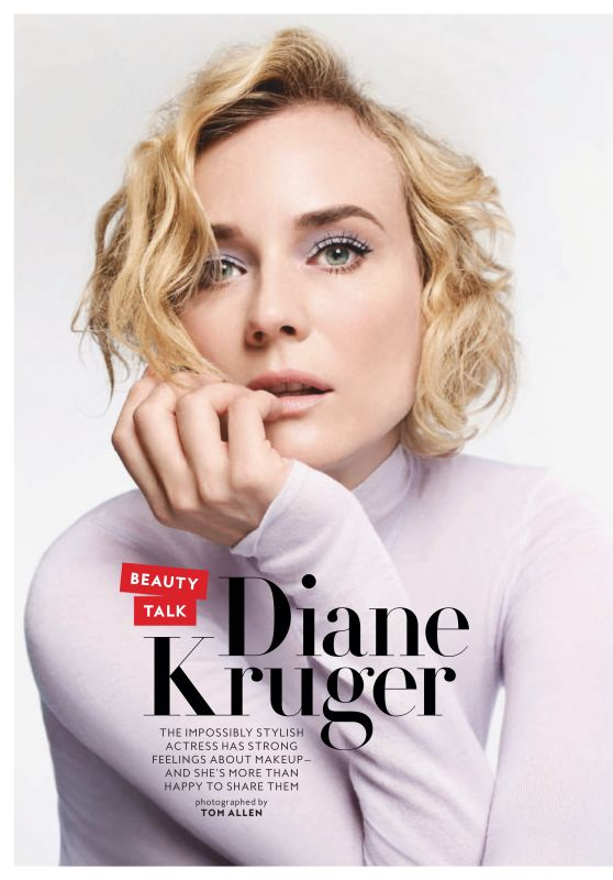 Diane Kruger - InStyle Magazine January 2019 Issue