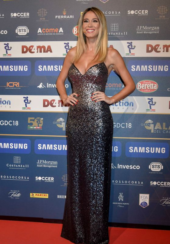 Diletta Leotta - Gran Gal of Football in Milan