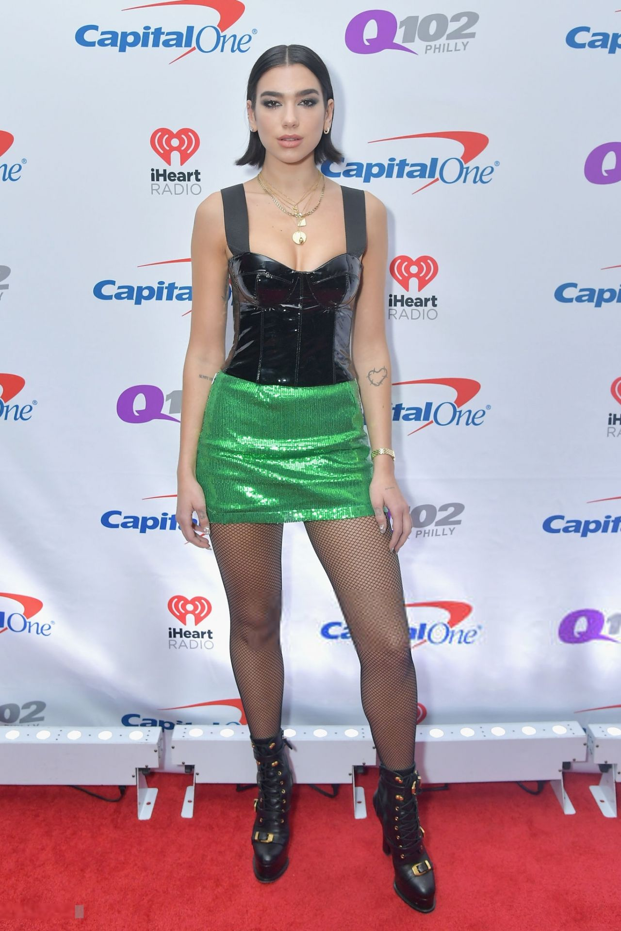 Dua Lipa Q102 S Jingle Ball 2018