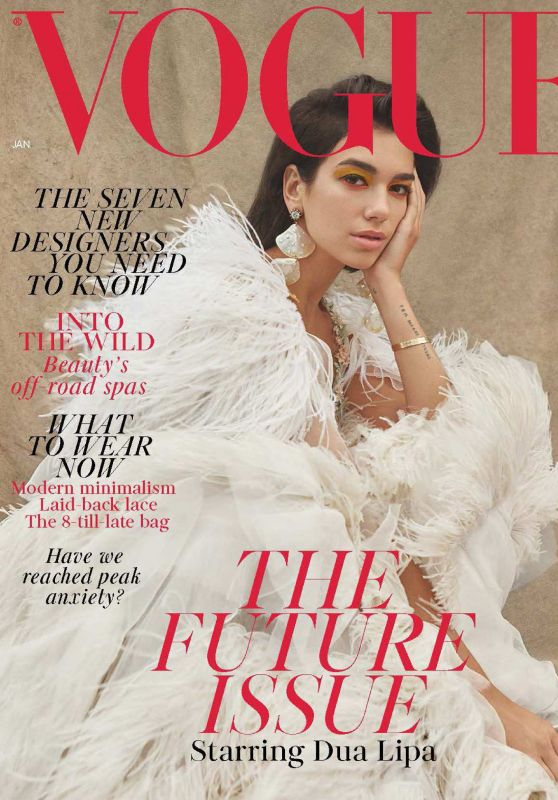 Dua Lipa - VOGUE UK January 2019 Issue