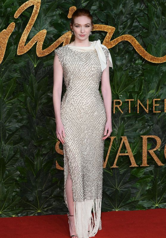 Eleanor Tomlinson – The Fashion Awards 2018 in London