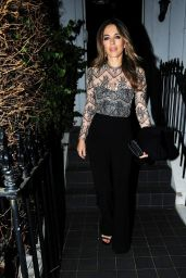 Elizabeth Hurley Night Out Style 12/11/2018