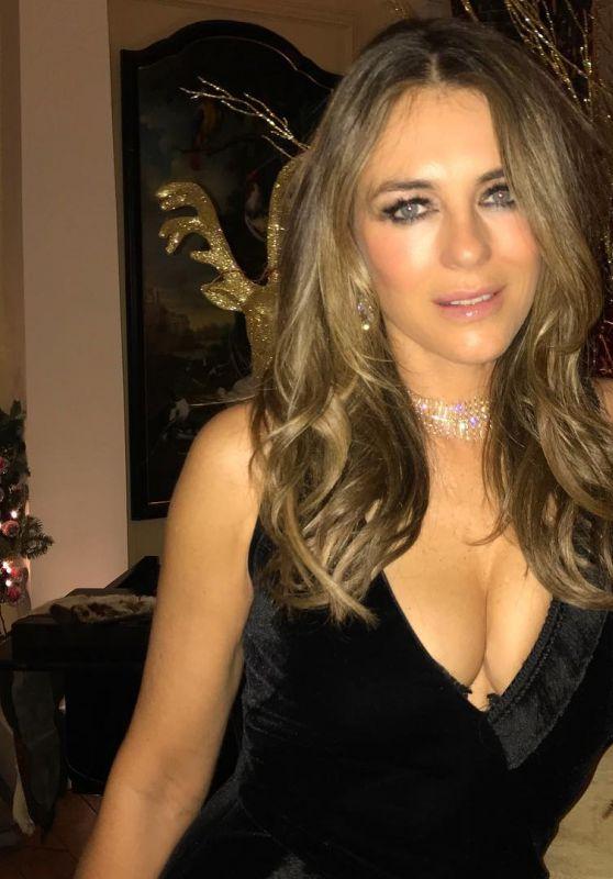 Elizabeth Hurley - Personal Pics 12/25/2018