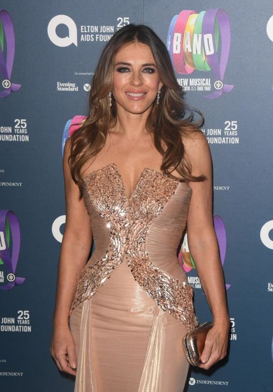 "Elizabeth Hurley - ""The Band"" Charity Gala Performance in London"