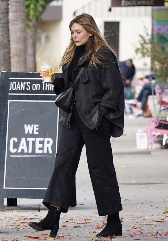 Elizabeth Olsen Casual Style 12/05/2018