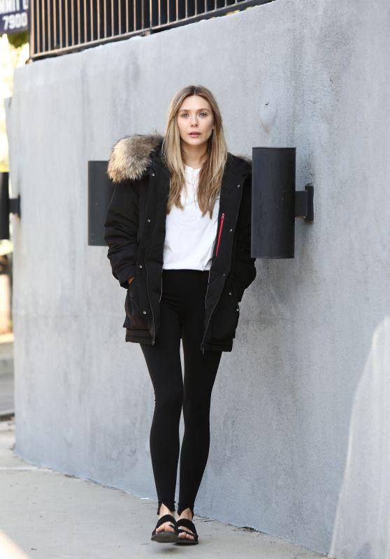 Elizabeth Olsen - Photoshoot for Bosideng