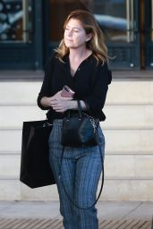 Ellen Pompeo - Shopping in Beverly Hills 11/30/2018