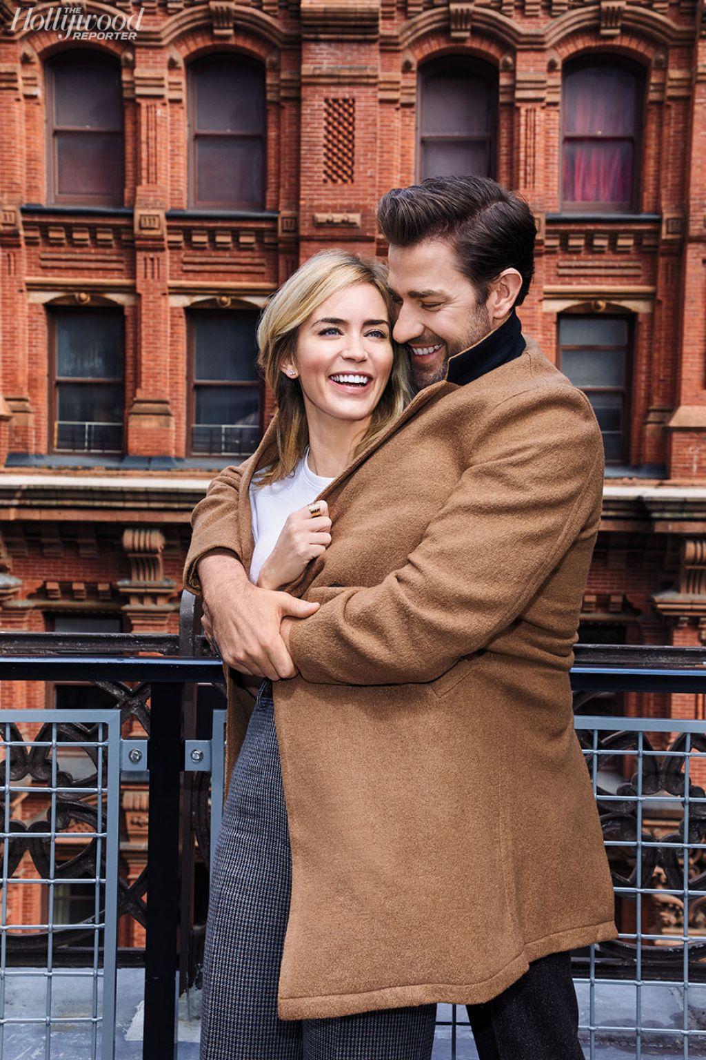 Emily Blunt and John Krasinski - The Hollywood Reporter ...