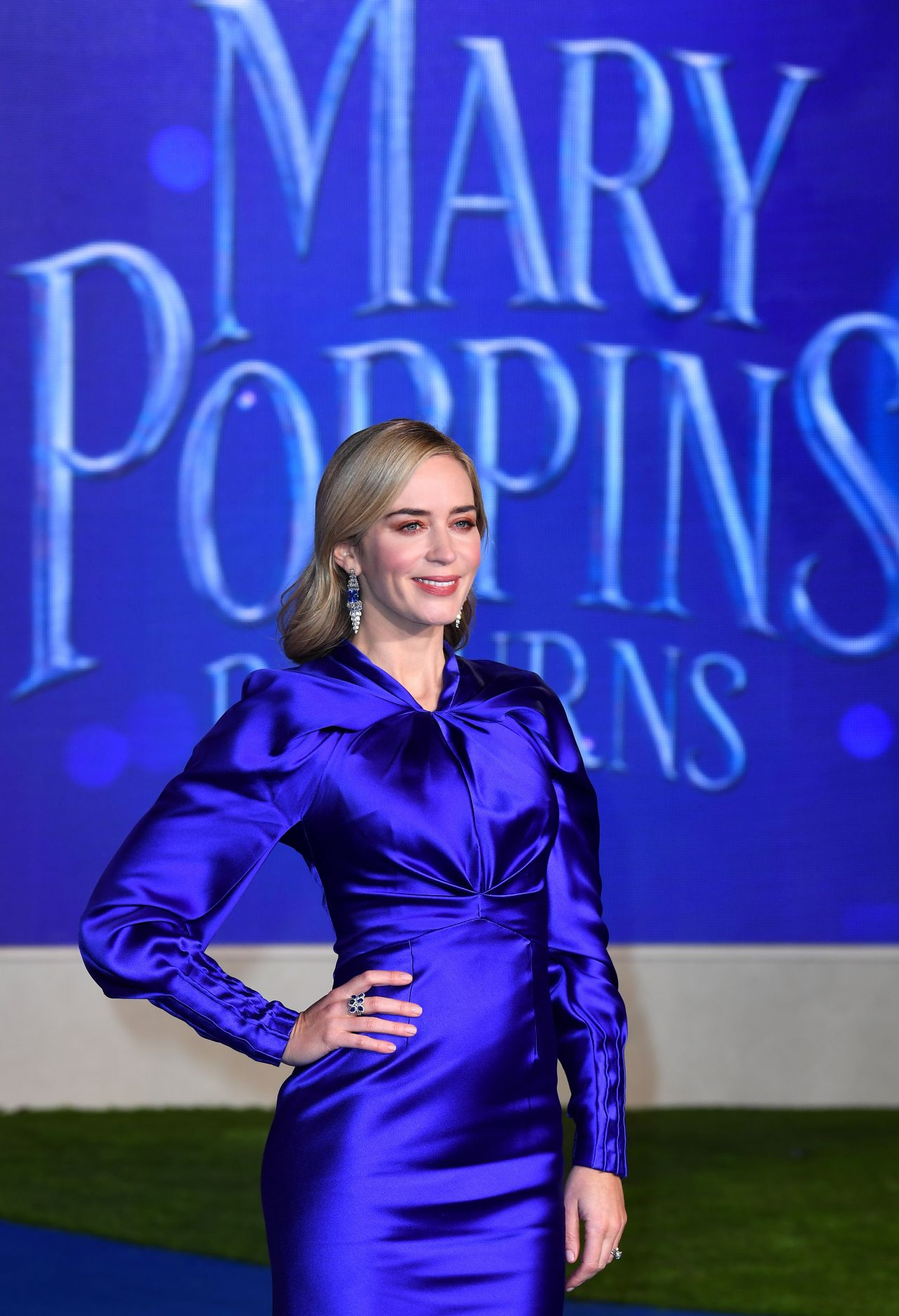 Emily Blunt Mary Poppins Returns Premiere In London