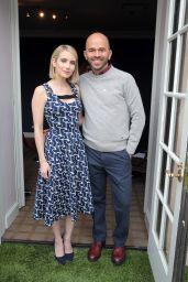 Emma Roberts – Brooks Brothers' Holiday Celebration in LA 12/09/2018