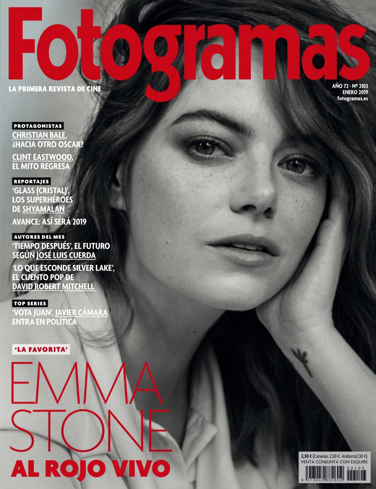 Fotogramas Magazine January 2019 Issue