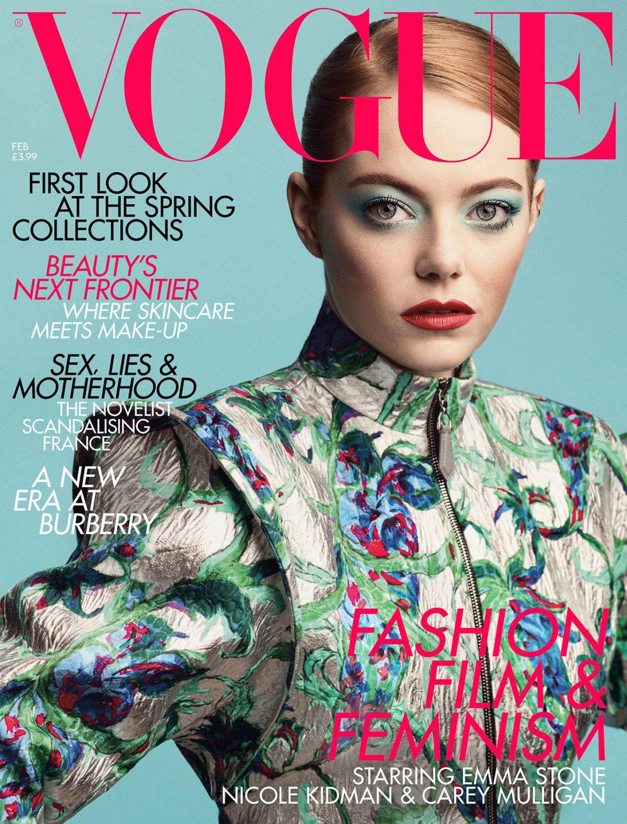 Vogue Magazine Uk May 2015 Issue: VOGUE UK February 2019 Cover And Photos