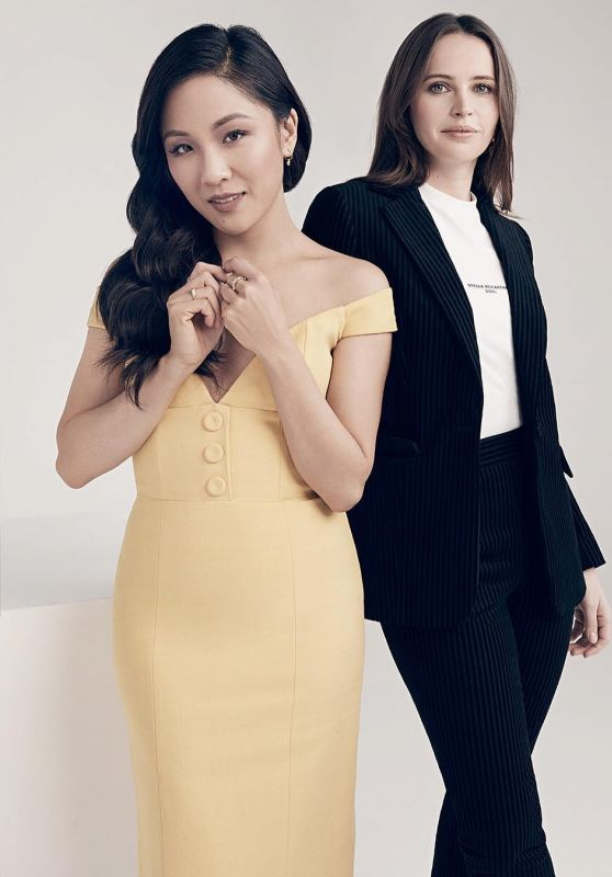 Felicity Jones and Constance Wu - Variety Magazine