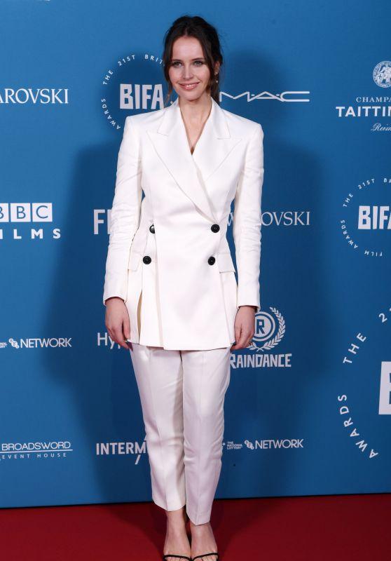 Felicity Jones – British Independent Film Awards 2018