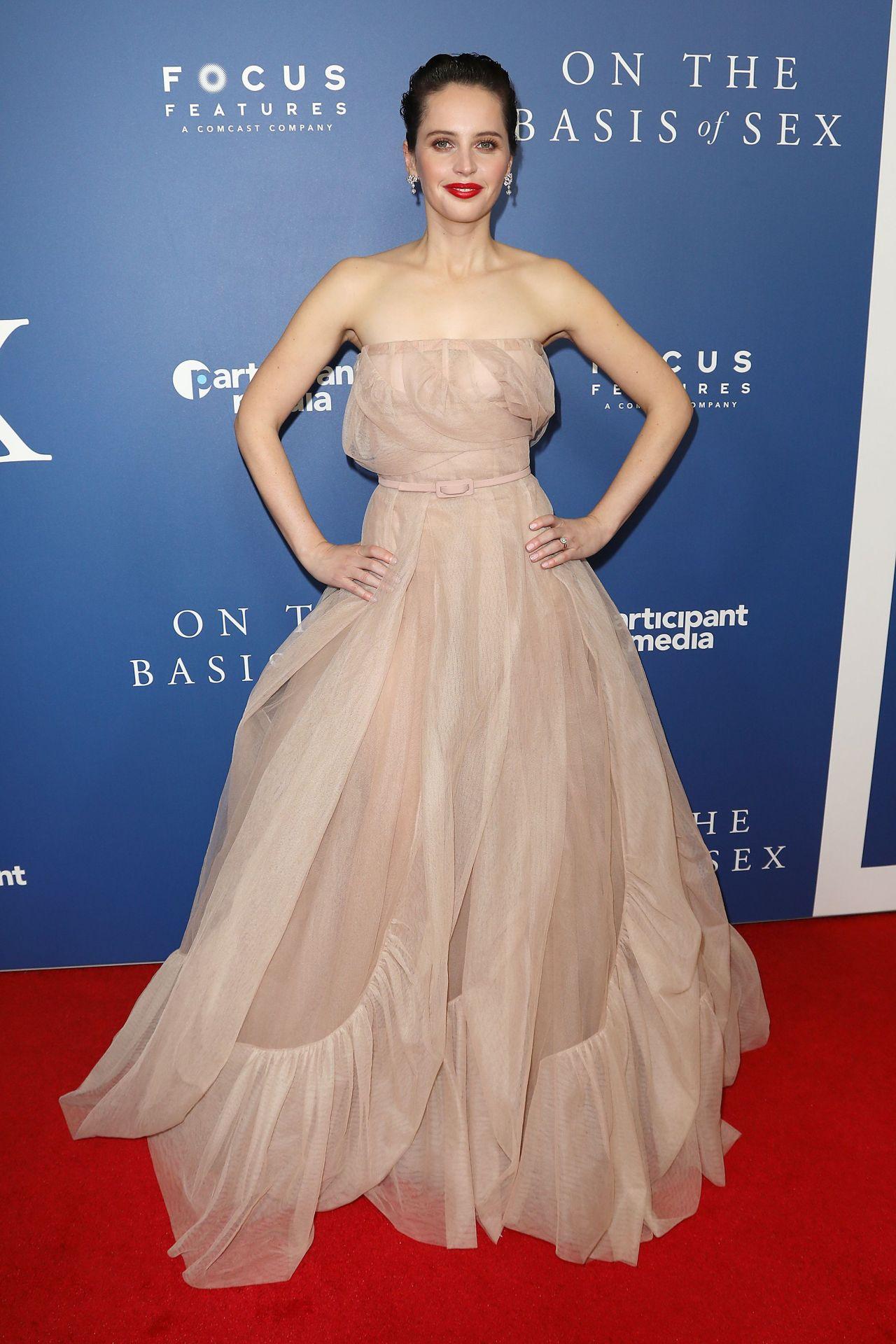 "Felicity Jones – ""On The Basis of S*x"" Screening in NY"