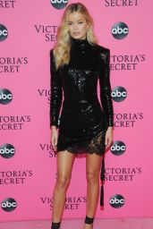 Frida Aasen – 2018 Victoria's Secret Viewing Party in NYC