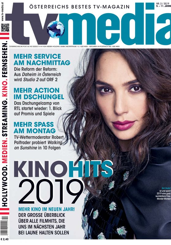 Gal Gadot - TV-Media Magazine January 2019 Cover