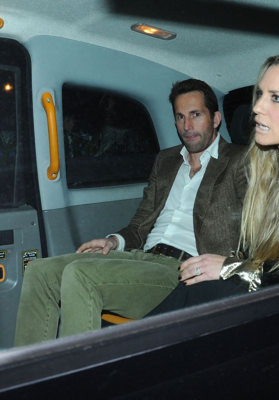 Georgie Thompson – Piers Morgan's Christmas Party in London