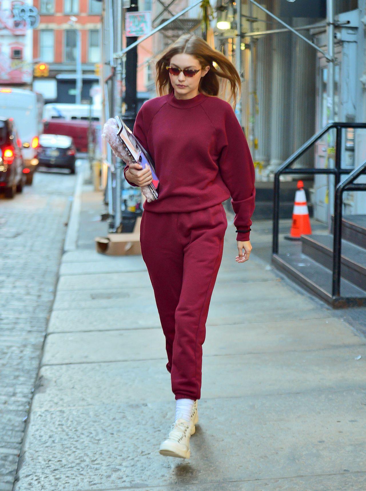 Gigi Hadid Street Style 12/07/2018