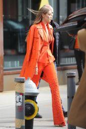 Gigi Hadid Style and Fashion - NYC 12/11/2018