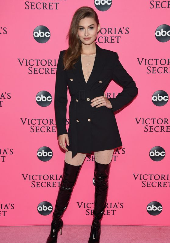 Grace Elizabeth – 2018 Victoria's Secret Viewing Party in NYC