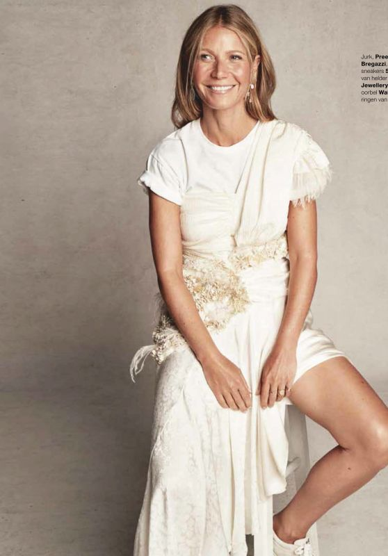 Gwyneth Paltrow - Marie Claire Netherlands January 2019 Issue