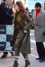 Hailee Steinfeld Arrives at BUILD in NYC 12/18/2018