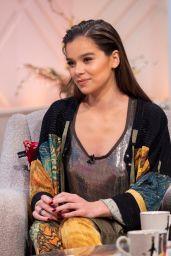 """Hailee Steinfeld - """"Lorraine"""" TV Show in London 12/06/2018"""