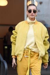 Hailey Baldwin Bieber Street Fashion 12/10/2018