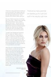 Hailey Baldwin - Liberti January 2019