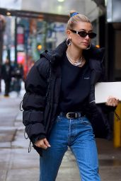 Hailey Bieber - Out and About in NYC 12/02/2018
