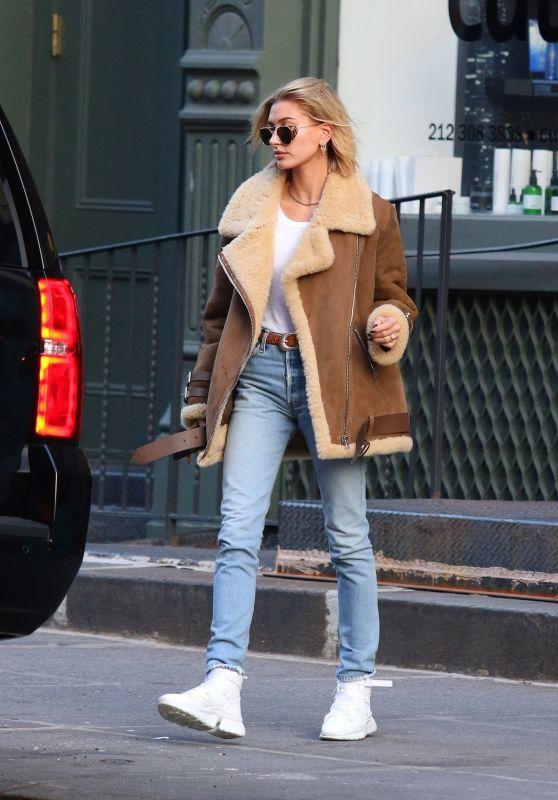 Hailey Rhode Bieber Street Style 12/11/2018