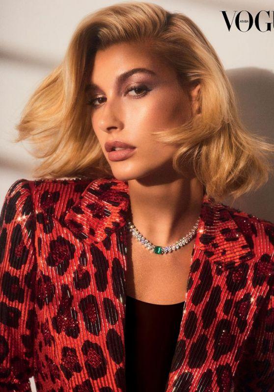 Hailey Rhode Bieber - Vogue Arabia December 2018