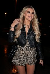 Hayley Hughes Night Out Style - Vermilion Restaurant in Manchester 12/19/2018