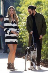 Heidi Klum and Tom Kaulitz Out in LA 12/03/2018