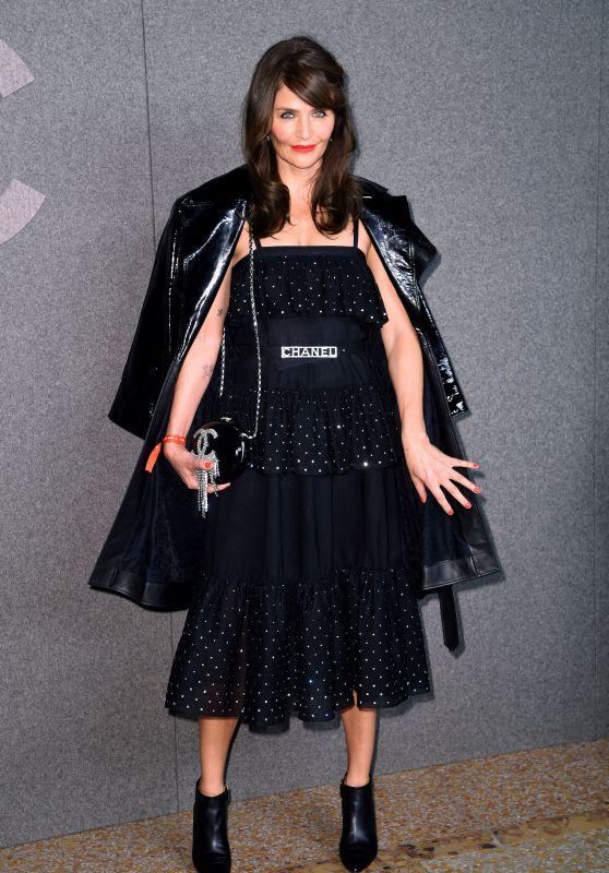 Helena Christensen – Chanel Metiers d'Art Show in New York 12/04/2018
