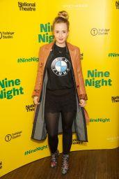 "Holli Dempsey – ""Nine Night"" Opening Night in London 12/06/2018"