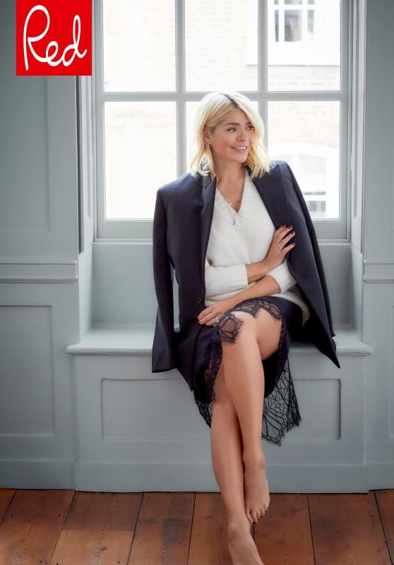 Holly Willoughby - Red Magazine January 2019 Cover And Photos-3145