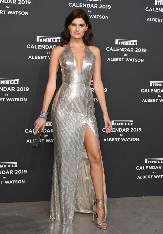 Isabeli Fontana – Presentation of the 2019 Pirelli Calendar in Milan