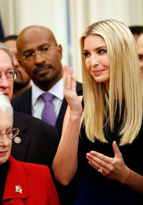 Ivanka Trump - Signing Ceremony for S. 756 in Washington 12/21/2018