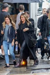 "Jennifer Aniston - Arrives at ""Jimmy Kimmel Live"" in Los Angeles 12/05/2018"