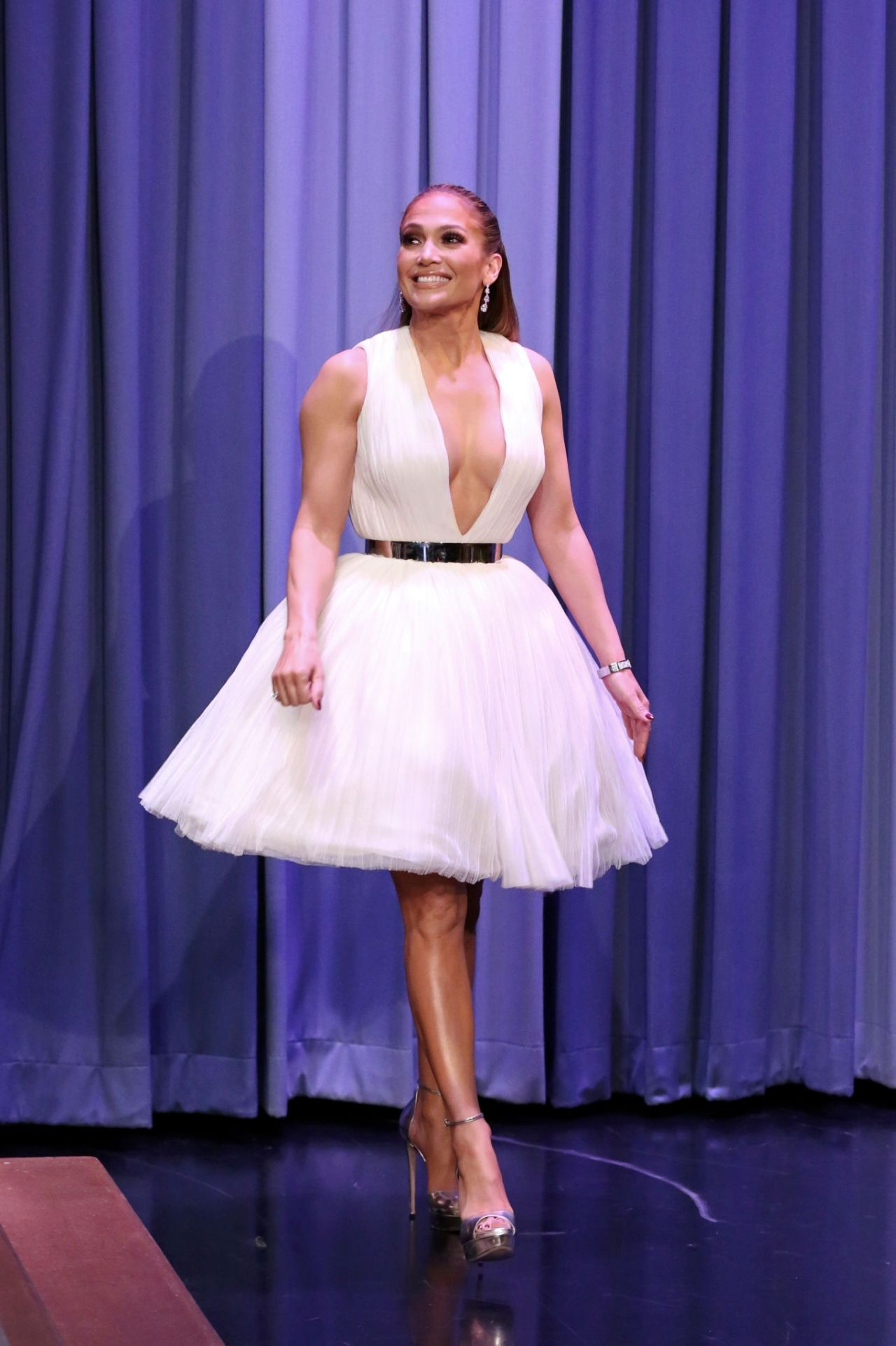 Jennifer Lopez Appeared on The Tonight Show Starring Jimmy ...