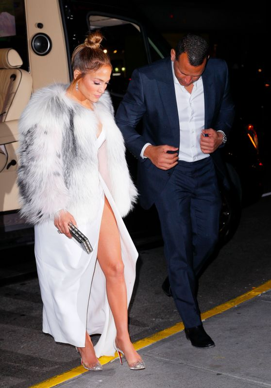"Jennifer Lopez - Arrive for ""Second Act"" Afterparty in NY"