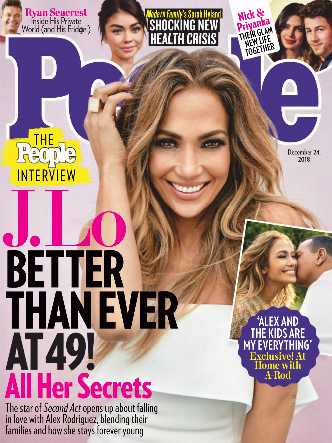 magazine jennifer lopez december issue covers latest usa alex rodriguez week blending magazines open swoon reveals quality relationship families together