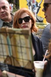 Jessica Chastain - Batman Alley in Sao Paulo 12/08/2018