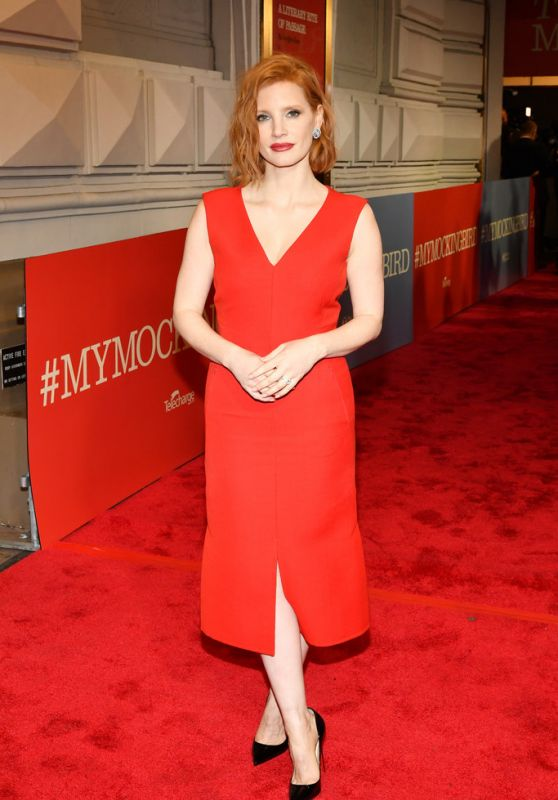 """Jessica Chastain – """"To Kill A Mocking Bird"""" Opening Night in NYC"""