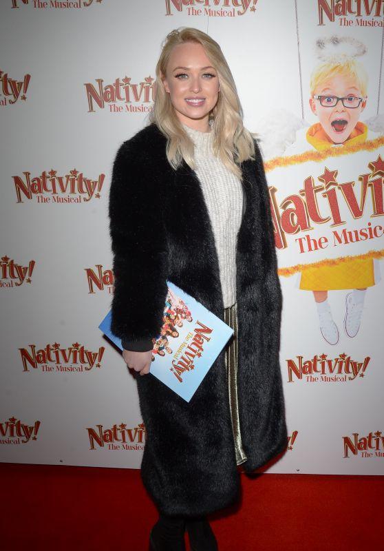 Jorgie Porter - Nativity! The Musical Press Night in London 12/20/2018