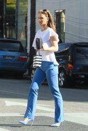 Josie Davis - Shopping in Beverly Hills 12/26/2018
