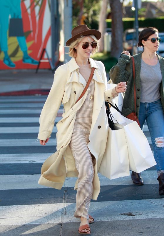 Julianne Hough - Shopping in Los Angeles 12/02/2018